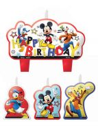 Mickey Mouse B'day Candle Set