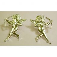 Gold Cupid With Bow & Arrow