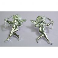 Silver Cupid With Bow & Arrow