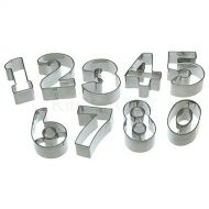 Numeral Cutters Tin Set