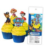 Paw Patrol Wafer Cupcake Topper