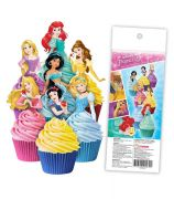 Disney Princess Wafer Cupcake Topper