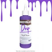 Purple Passion Chocolate Drip
