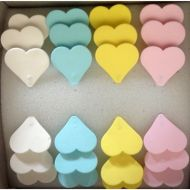 Sugar Hearts on Wire Assorted