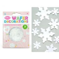 Wafer White Snowflakes