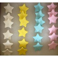 Sugar Stars on Wire Assorted