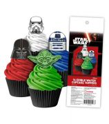 Star Wars Wafer Cupcake Topper