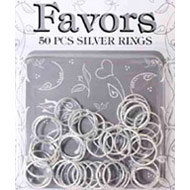 Silver Wedding Ring Favours