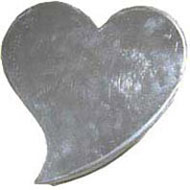 Heart Abstract 195mm Cake Tin Hire