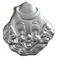 Clown Head Cake Tin Hire