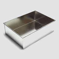 Slab 288mm x 190mm x 80mm Cake Tin Hire