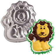 Lion Cake Pan Hire